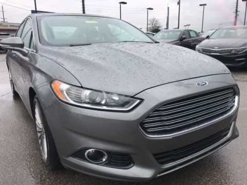 Pre-Owned 2013 Ford Fusion Titanium FWD 4D Sedan