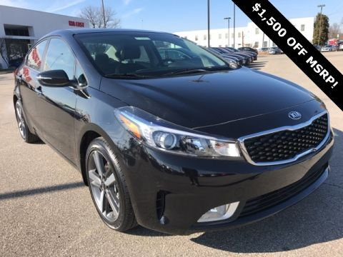 New 2018 Kia Forte EX FWD 4D Sedan