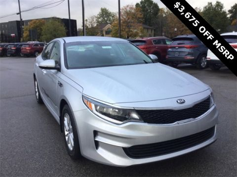 New 2018 Kia Optima LX FWD 4D Sedan